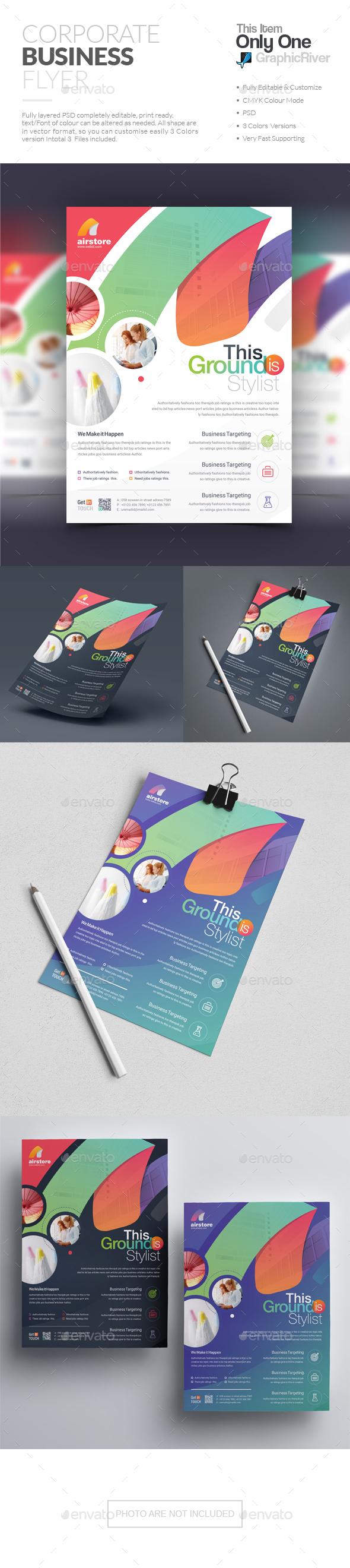 GraphicRiver Flyer 20537458