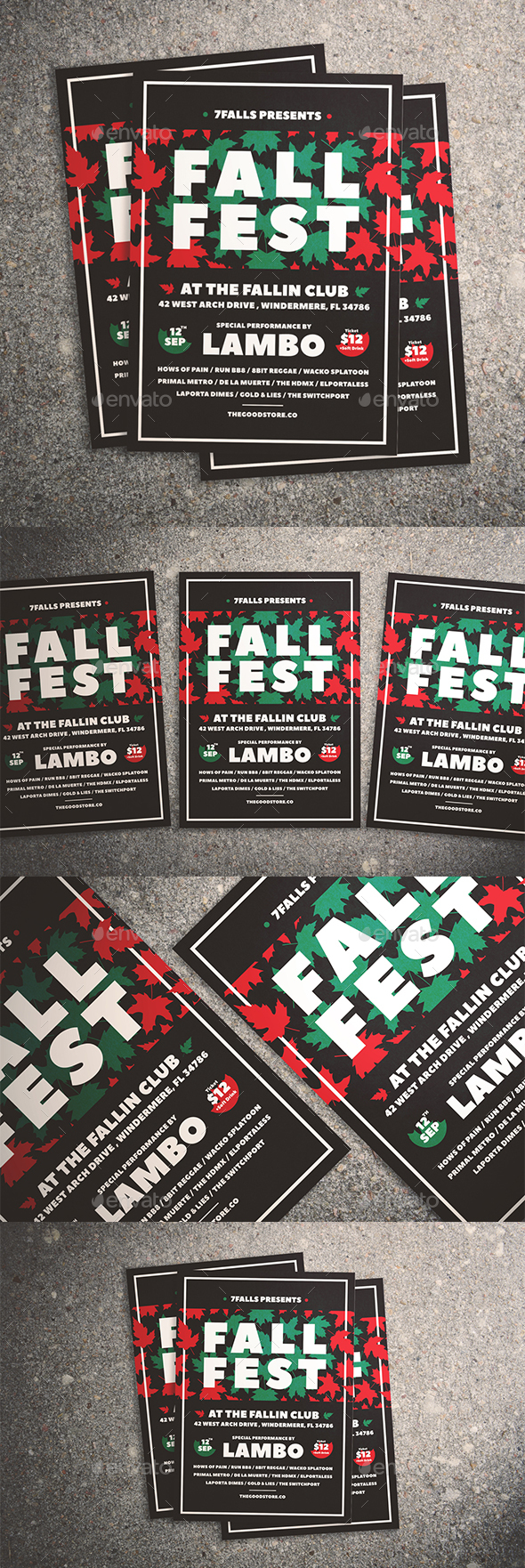 Fall Fest Flyer - Events Flyers