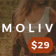 MOLIV - A Creative Photography Portfolio WordPress Theme