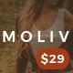 MOLIV - A Creative Photography Portfolio WordPress Theme