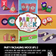 The Party Pack Packaging Mock Ups 2 - GraphicRiver Item for Sale