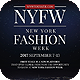New York Fashion Show Flyer