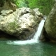 Waterfall on a Mountain River of Crimea - VideoHive Item for Sale