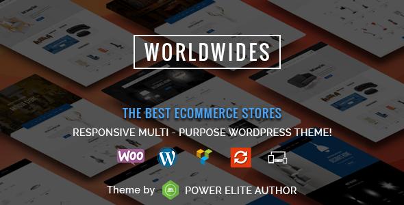 WorldWides - Multipurpose WooCommerce Theme - WooCommerce eCommerce