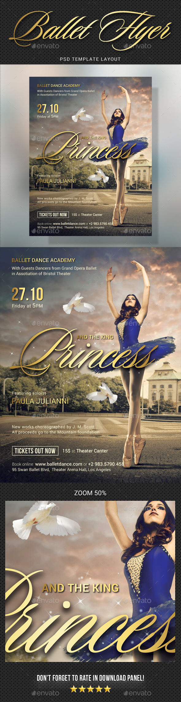 Ballet Flyer - Events Flyers