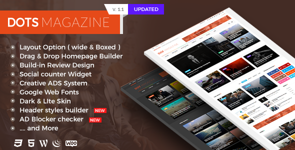 Dots Magazine - Multi-purpose WordPress News