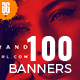 100 Fashion Facebook Post Banners - GraphicRiver Item for Sale