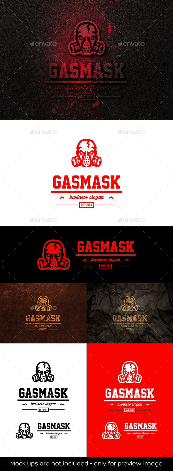 Gas Mask Logo - Humans Logo Templates