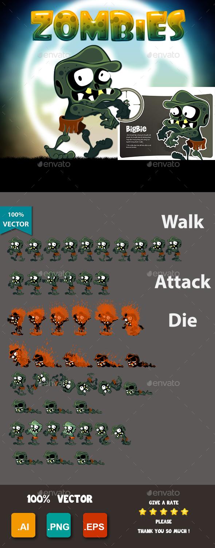 GraphicRiver Zombies Bigbies 20529004