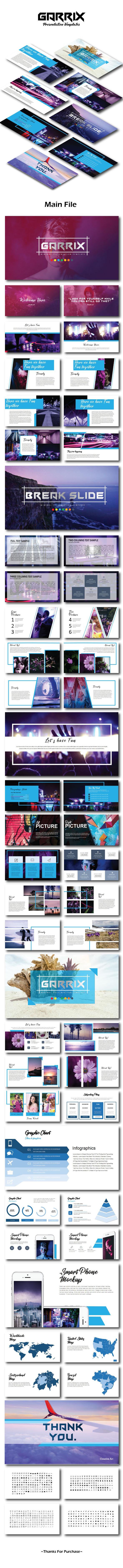 Garrix Presentation Templates - Creative Keynote Templates