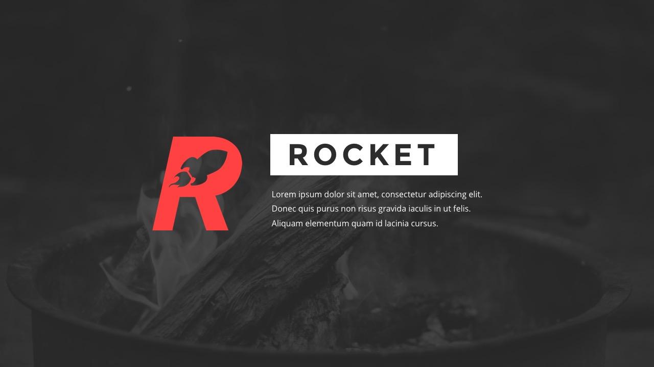 Rocket - StartUp Pitch Deck Google Slides Template by suavedigital