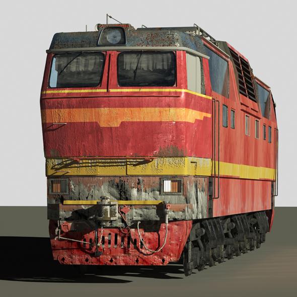 3DOcean Train CS2T 20539530