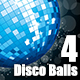 Set of 4 Disco Balls - GraphicRiver Item for Sale