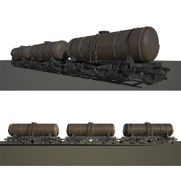 Train Vagon - 3DOcean Item for Sale