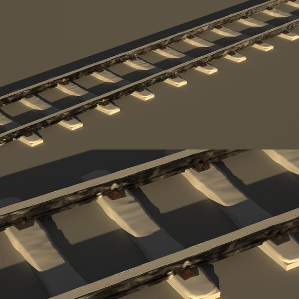 Rails Models Snow - 3DOcean Item for Sale