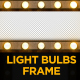 Light Bulbs Frame - VideoHive Item for Sale