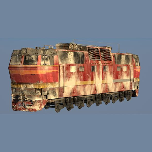 3DOcean Train CS2T Snow 20539863