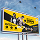 Fitness or Gym Billboard Template