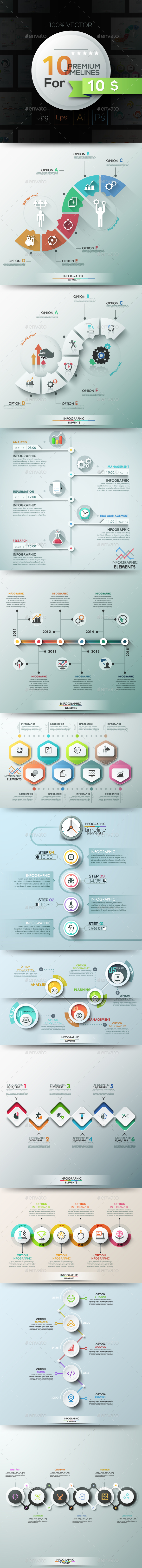 GraphicRiver 10 Infographic Timelines Part 2 20540228