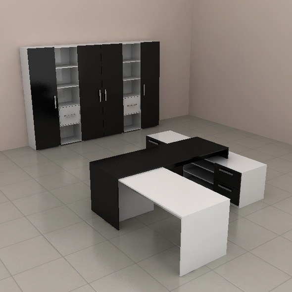 Office furniture 01 - 3DOcean Item for Sale