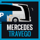 Mercedes Travego Bus Mock-Up - GraphicRiver Item for Sale