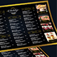 Elegant Restaurant Menu Board + Business Card