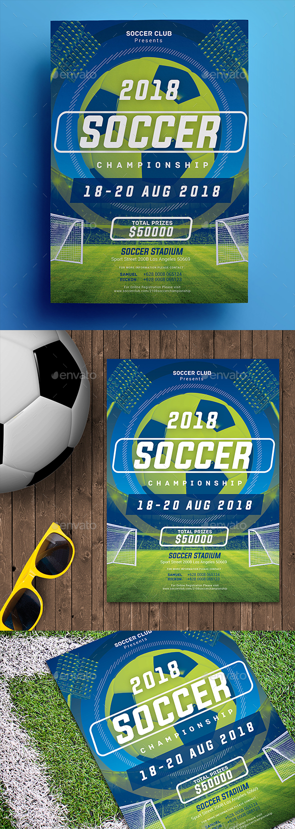 Soccer Championship Flyer 02 - Sports Events