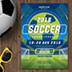 Soccer Championship Flyer 02 - GraphicRiver Item for Sale