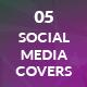 Mobile App - Social Media Cover Pages Kit