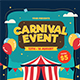 Carnival Event Flyer