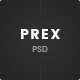 Prex | Creative Agency & Portfolio PSD Template - ThemeForest Item for Sale