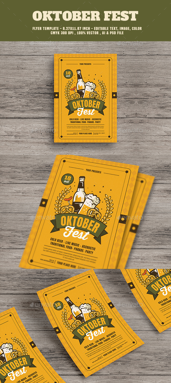 Oktober Festival Flyer - Events Flyers