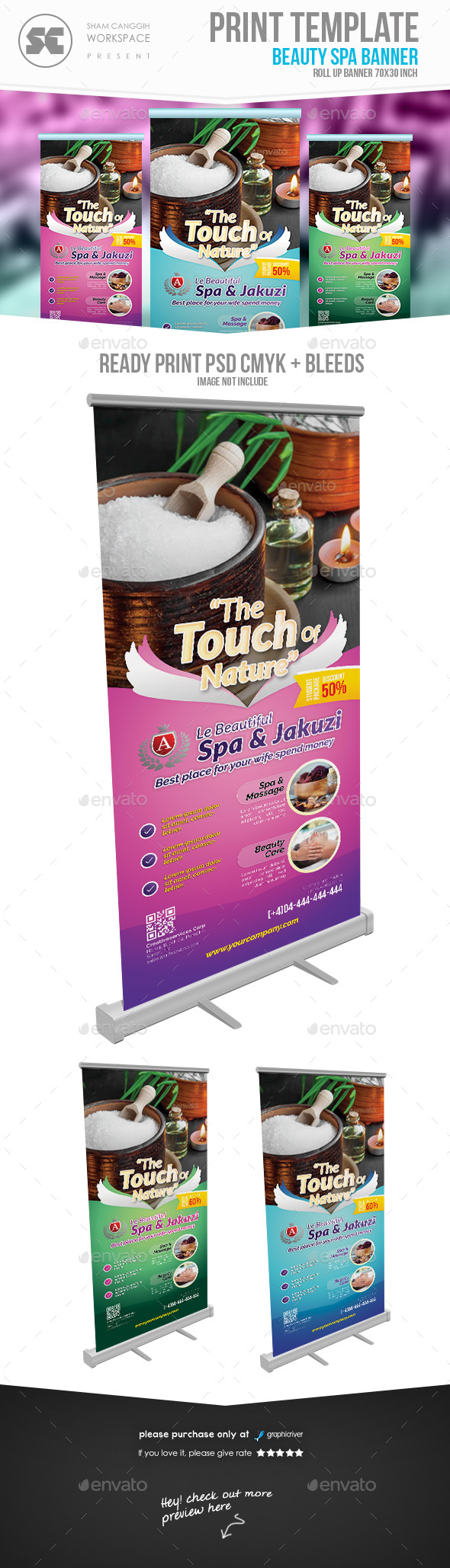 GraphicRiver Beauty Spa Banner 20540924