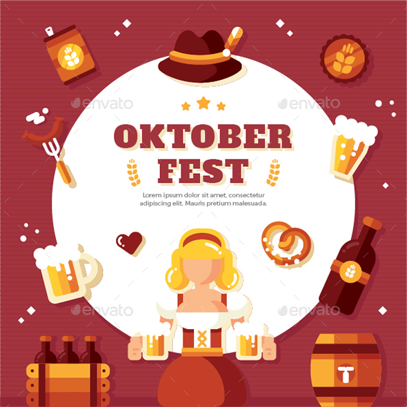 Oktober Festival Background - Seasons/Holidays Conceptual