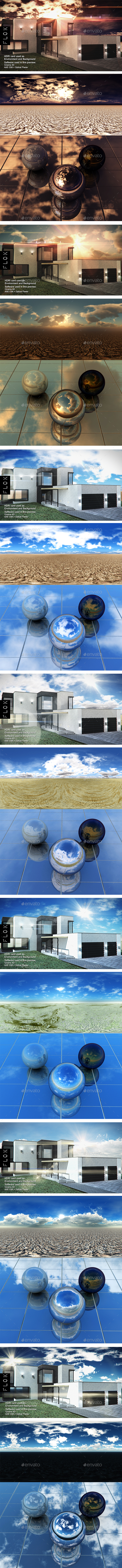 HDRI Pack - Desert vol 24 - 3DOcean Item for Sale