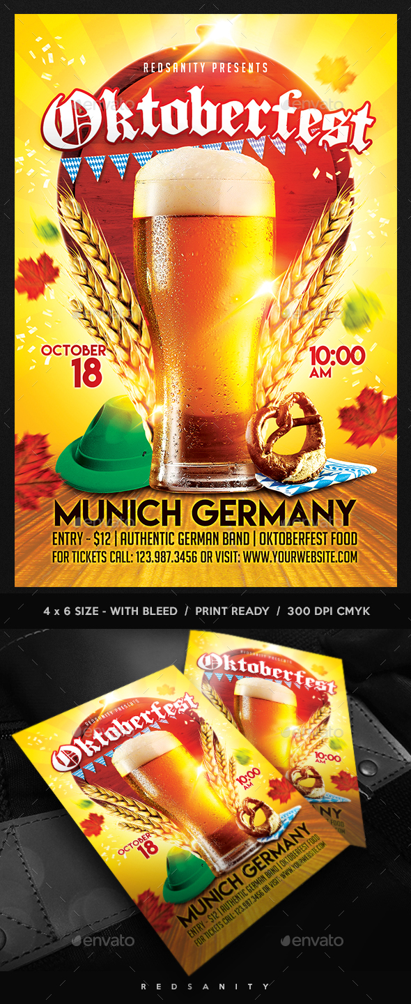 GraphicRiver Oktoberfest Flyer 20533601