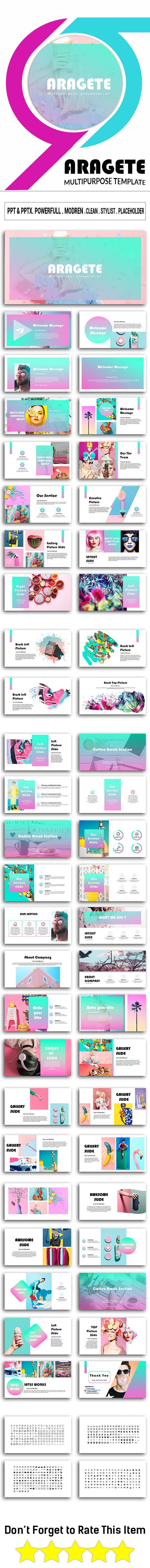Aragete Google Slide Template - Google Slides Presentation Templates