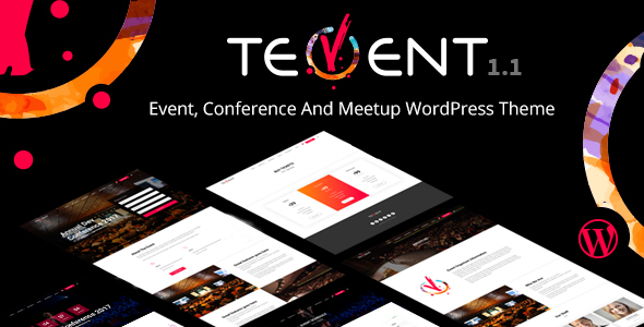 Image of Tevent - Conference & Event WordPress Theme