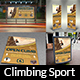 Climbing Sport Advertising Bundle