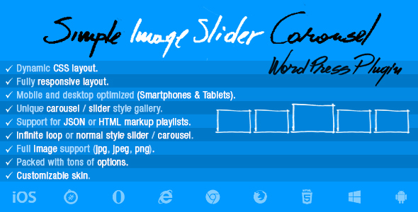 CodeCanyon Simple Image Slider Carousel Wordpress Plugin 20541469