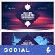 Electronic Music Party vol.30 - Facebook Post Banner Templates - GraphicRiver Item for Sale