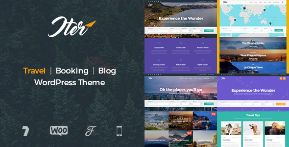 Iter - Travel & Tour Booking WordPress Theme - Travel Retail