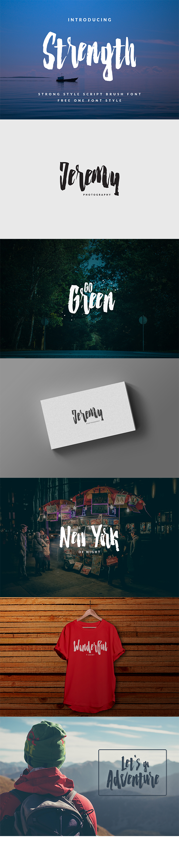 GraphicRiver Strenght Script Brush 20541675