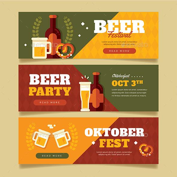 Oktober Festival Banner - Seasons/Holidays Conceptual