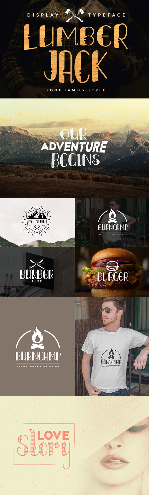 Lumberjack - Family - Sans-Serif Fonts