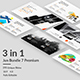 Jun 7 Premium - 3 in 1 Bundle Powerpoint Template - GraphicRiver Item for Sale