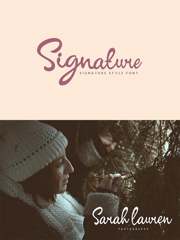 GraphicRiver Signature Script 20541866