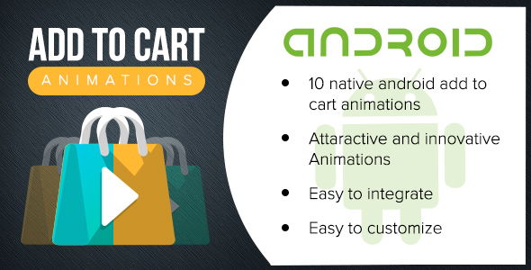 CodeCanyon Android Add To Cart Animations 20542064