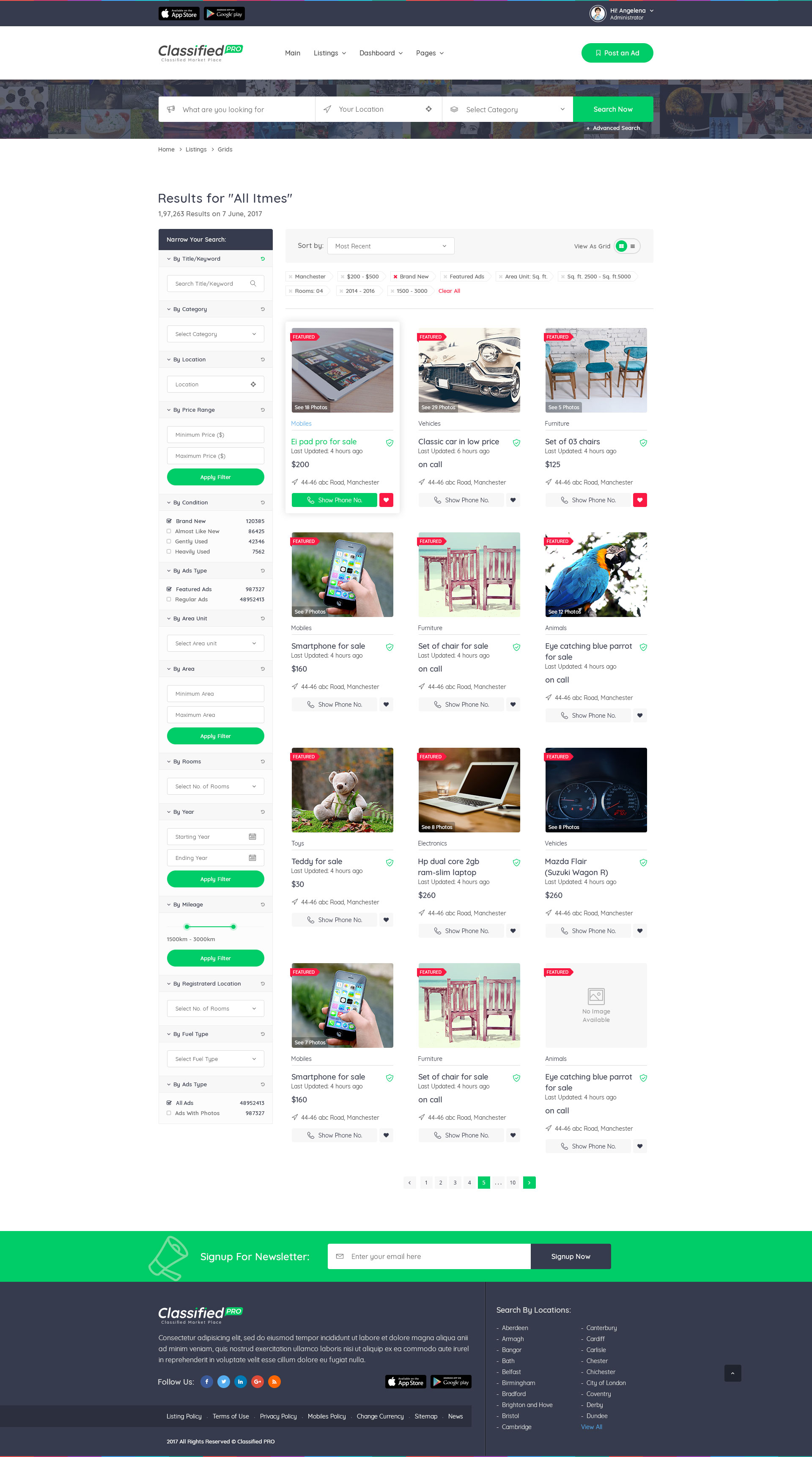 listing template - Gecce.tackletarts.co
