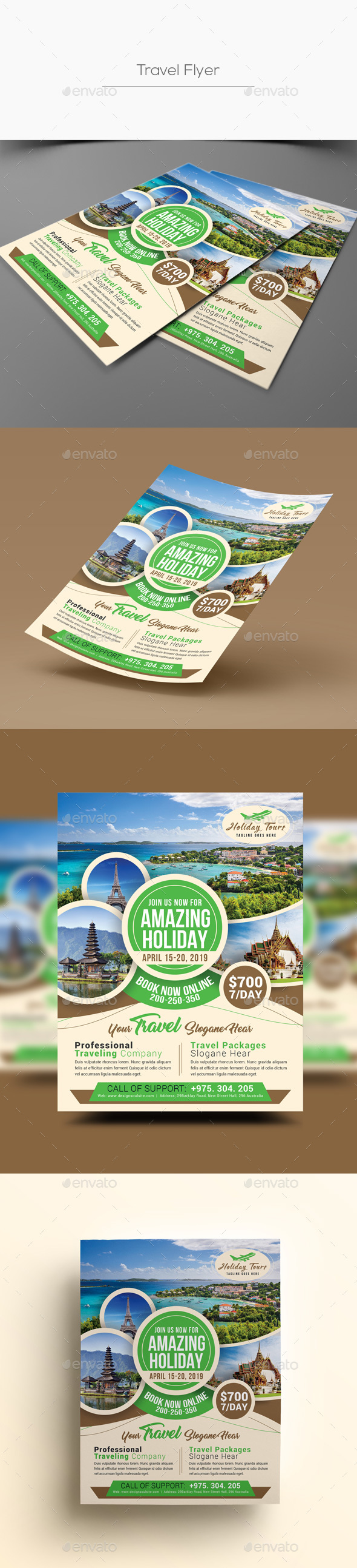 Travel Flyer - Corporate Flyers